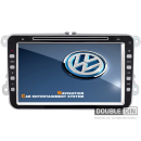 OEM Multimedia Double Din / Двоен дин DVD GPS TV за Seat, Skoda Octavia, Superb