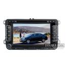 OEM Multimedia Double Din / Двоен дин DVD GPS TV за VW Touareg / Multivan