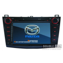 OEM Multimedia Double Din / Двоен дин DVD GPS TV за Mazda 3