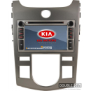 OEM Multimedia Double Din / Двоен дин DVD GPS TV за KIA Forte / Cerato / Koup