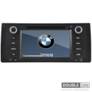 OEM Multimedia Double Din / Двоен дин DVD GPS TV за BMW E39 / E38 / X5 E53