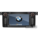 OEM Multimedia Double Din/Двоен Дин DVD, GPS, TV за BMW E46 / X3 / Z3 / Z4 2