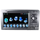 OEM Multimedia Double Din/Двоен Дин - DVD, GPS, TV за Audi A3