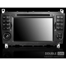 OEM Multimedia Double Din / Двоен дин DVD GPS TV за Mercedes C W203
