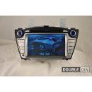 OEM Multimedia Double Din / Двоен дин DVD GPS TV за Hyundai Tuscon / ix35 2