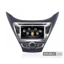 OEM Мултимедия, Двоен дин за Hyundai  Elantra 2012
