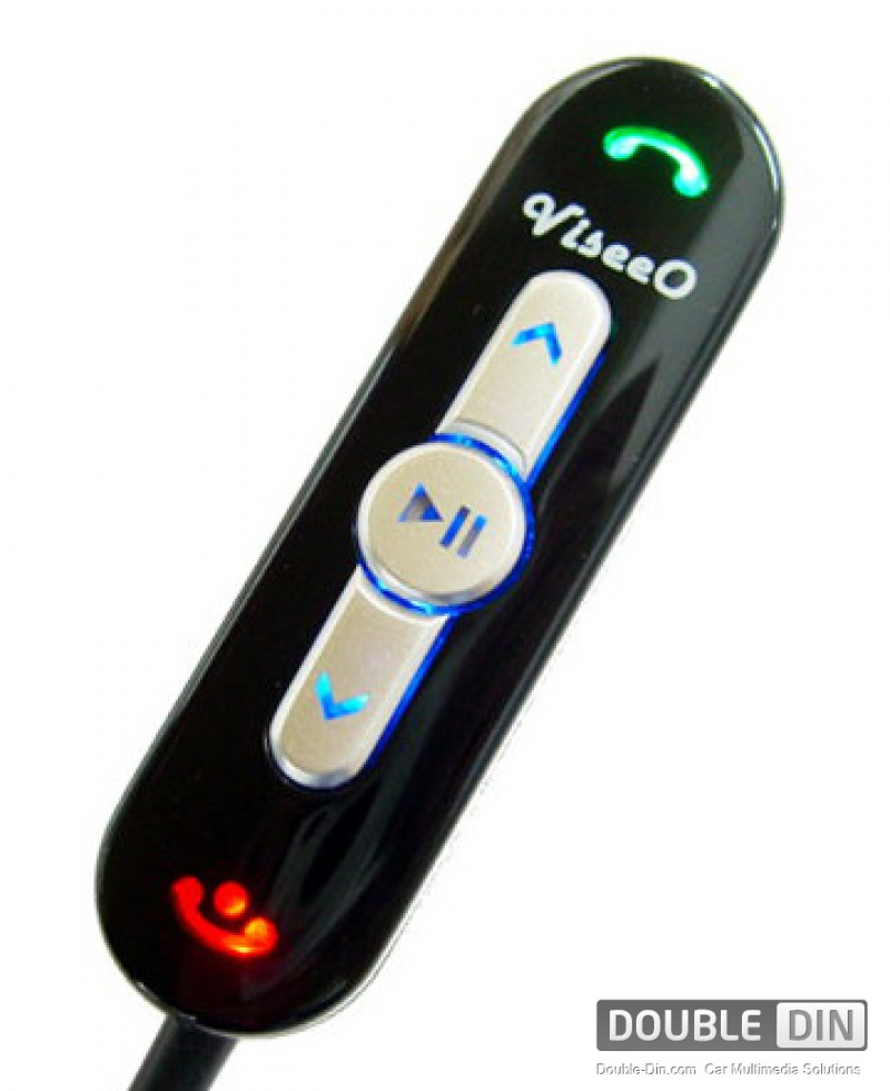 ViseeO Bluetooth hands free car kit,  music player