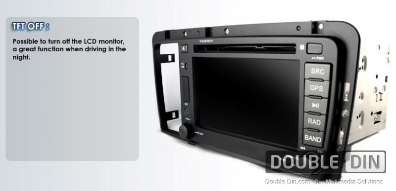 OEM Multimedia Double Din / Двоен дин DVD GPS TV за Volvo S60 / V70 2005-2009
