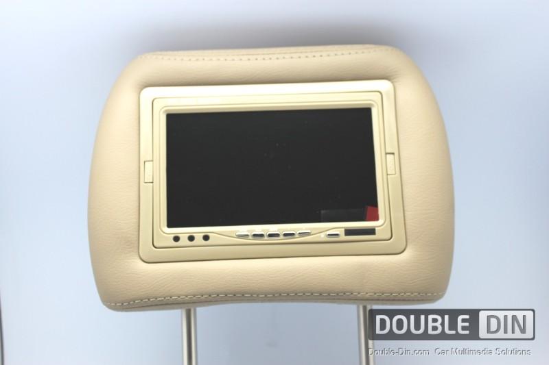 """7"""" широкоформатен LCD цветен дисплей вграден в подглвник"""
