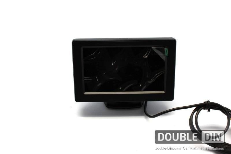 "4.3""широкоформатен LCD цветен дисплей"