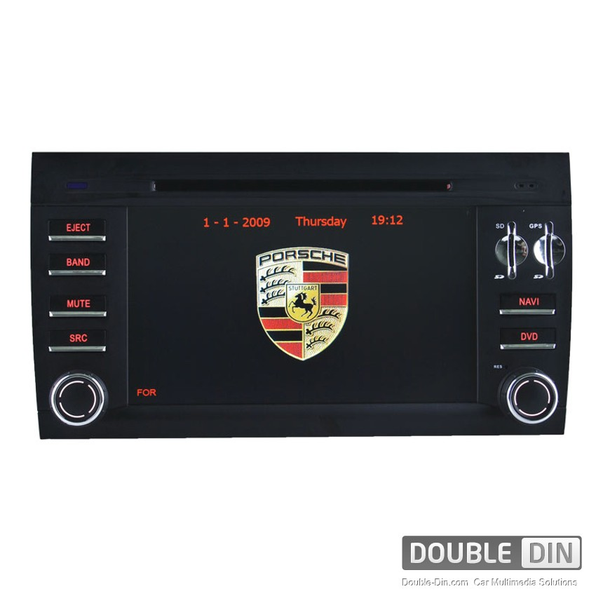 OEM Multimedia Double Din/Двоен Дин - DVD, GPS, TV за Porsche Cayenne 2003-2010