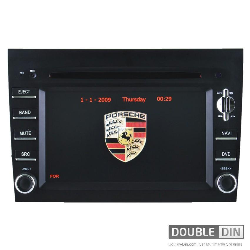OEM Multimedia Double Din / Двоен дин - DVD GPS TV за Porsche 911 997/BOXTER/CAYMAN