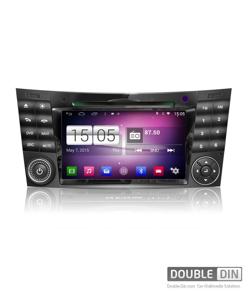 Навигация / Мултимедия с Android за Mercedes E-class W211, CLS W219  - DD-M090