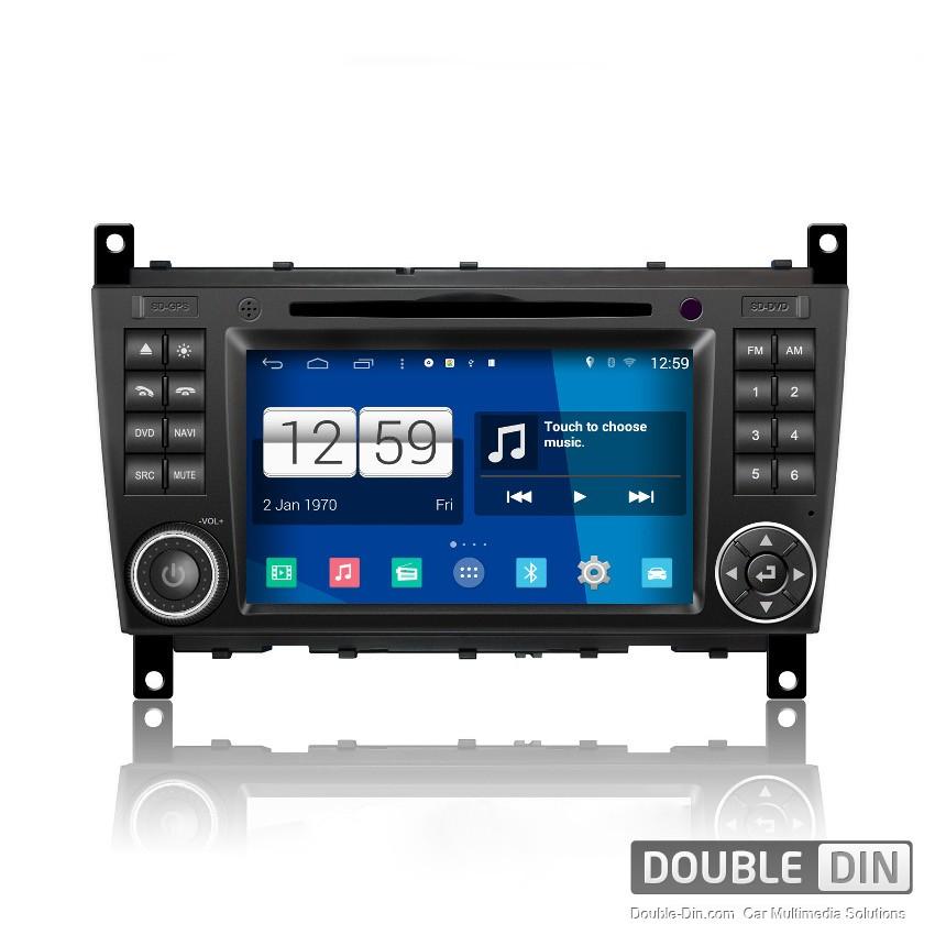 Навигация / Мултимедия с Android за Mercedes C-class W203, G-class W467 и други - DD-M093