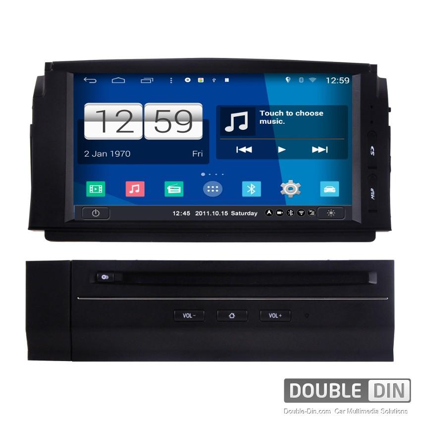 Навигация / Мултимедия с Android за Mercedes C-class - DD-M265