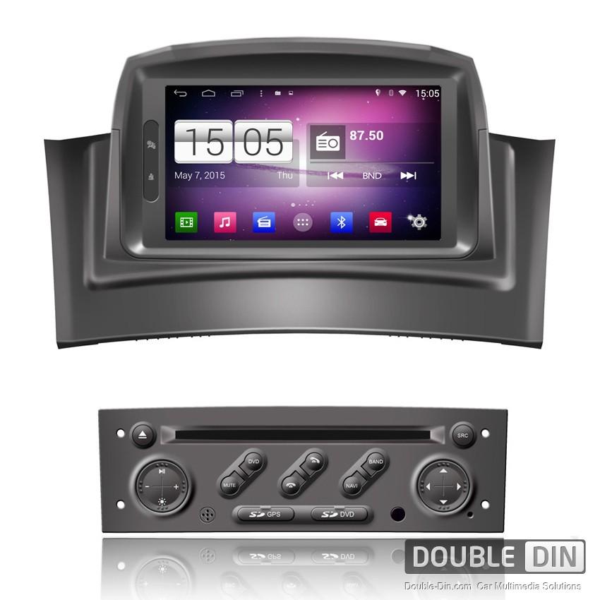 Навигация / Мултимедия с Android 9.0 Pie за Renault Megane II  - DD-M098