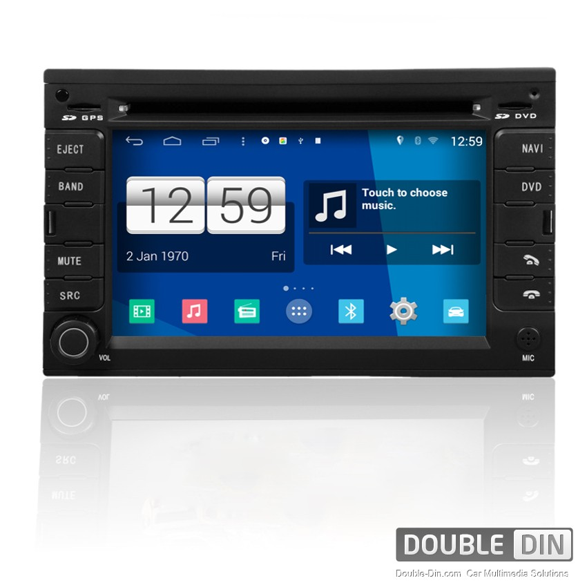 Навигация / Мултимедия с Android за VW Golf, Bora, Polo и други - DD-M016