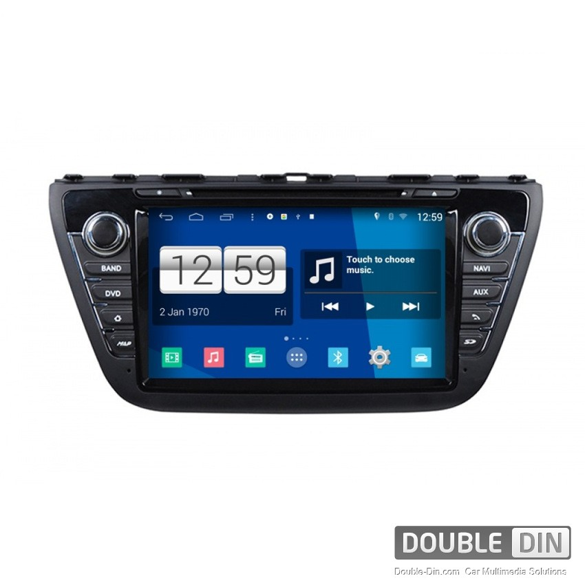 Навигация / Мултимедия с Android за Suzuki SX4 S-Cross - DD-M337