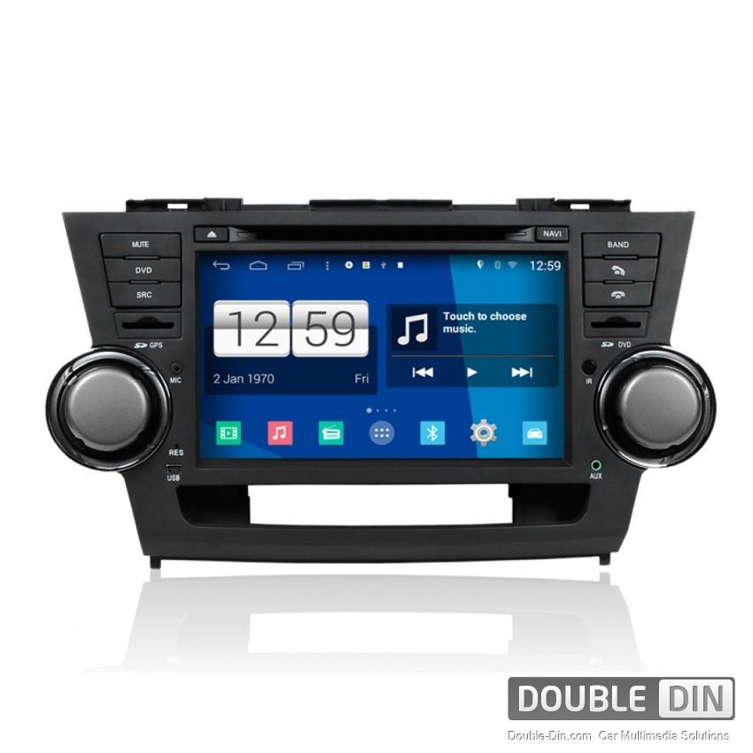 Навигация / Мултимедия с Android за Toyota Highlander - DD-M035