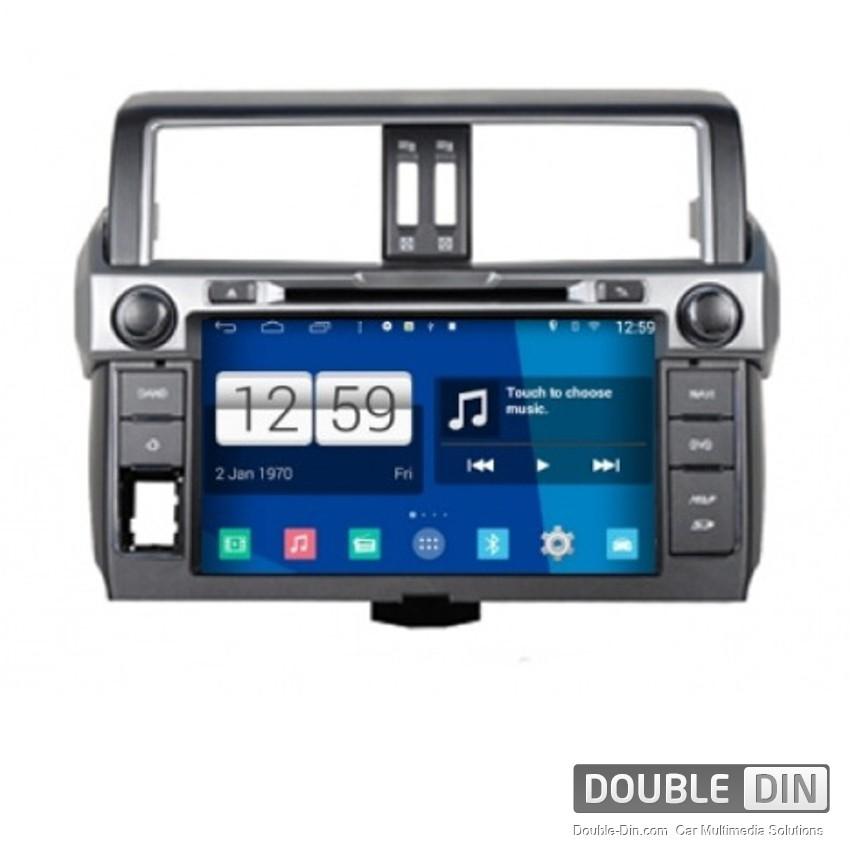 Навигация / Мултимедия с Android за Toyota Land Cruiser Prado 150 - DD-M347