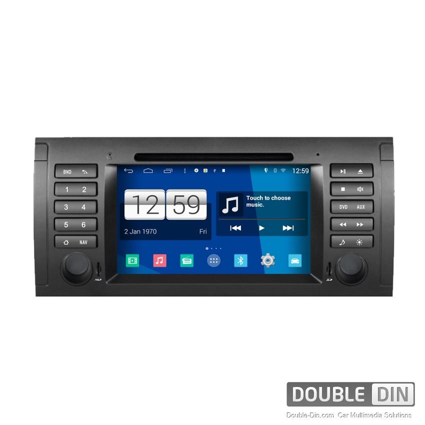 Навигация / Мултимедия с Android за BMW E38, E39, X5 E53  - DD-M395