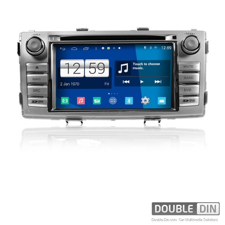 Навигация / Мултимедия с Android за Toyota Hilux - DD-M143