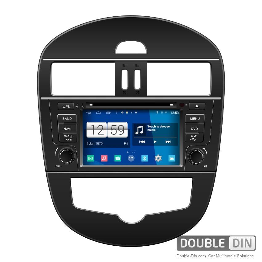 Навигация / Мултимедия с Android 9.0 Pie за Nissan Tiida  - DD-M105