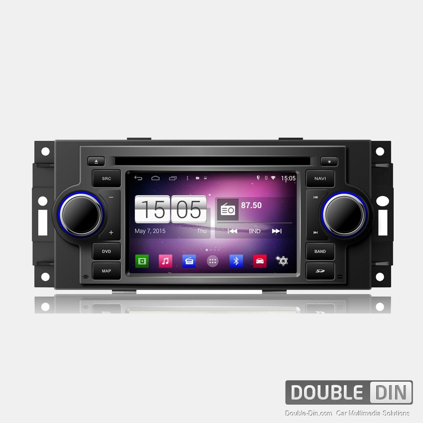 Навигация / Мултимедия с Android за Chrysler 300C, Jeep Grand Cherokee и други  - DD-M206