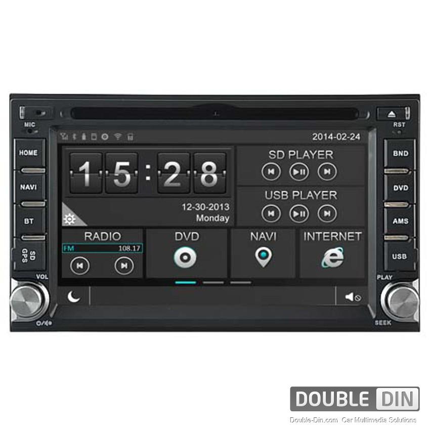 Навигация / Мултимедия за Hyundai Santa Fe - DD-8900