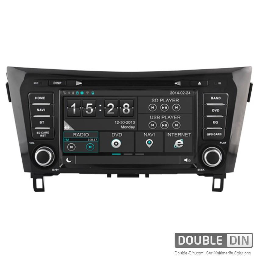 Навигация / Мултимедия за Nissan Qashqai - DD-8908