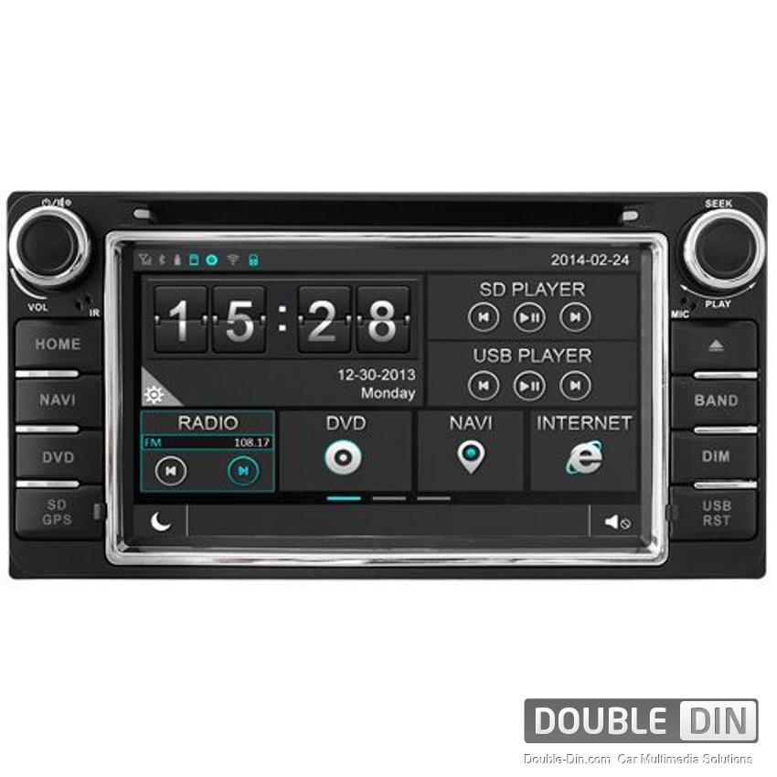 Навигация / Мултимедия за Toyota Corolla Verso - DD-8158