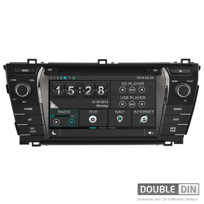 Навигация / Мултимедия за Toyota Corolla - DD-8156