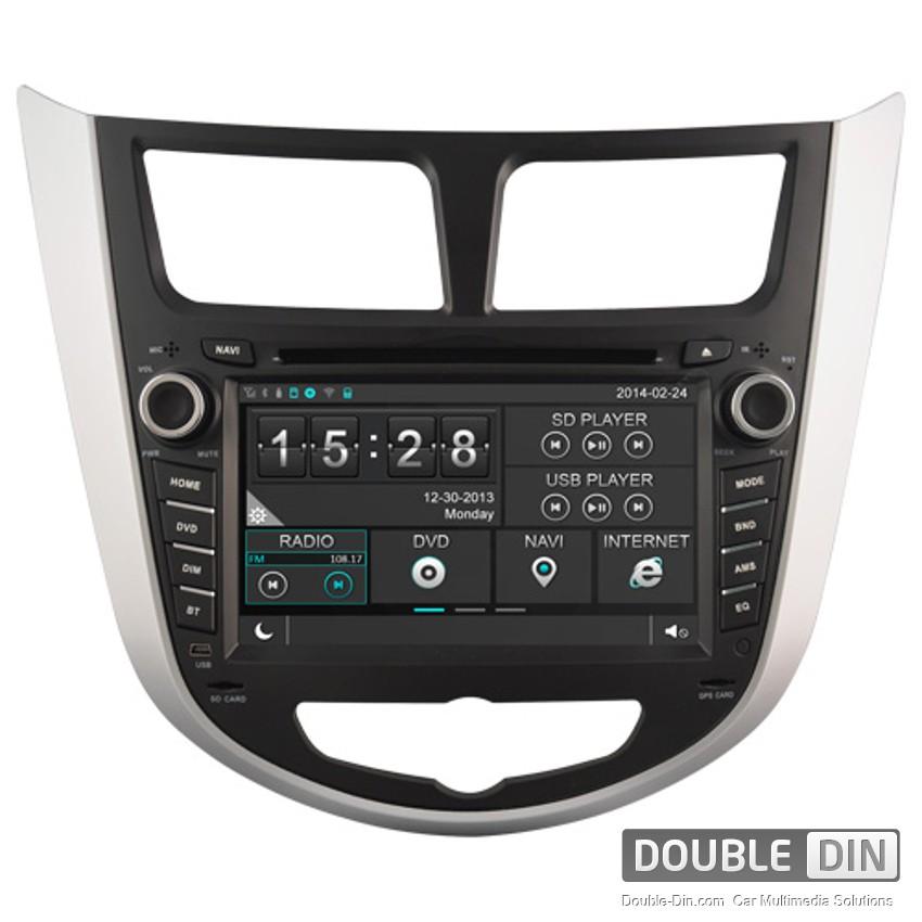 Навигация / Мултимедия за Hyundai Verna - DD-8263