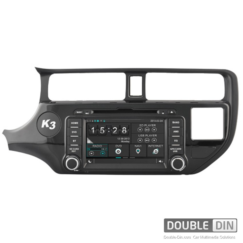 Навигация / Мултимедия за Kia K3 - DD-8583