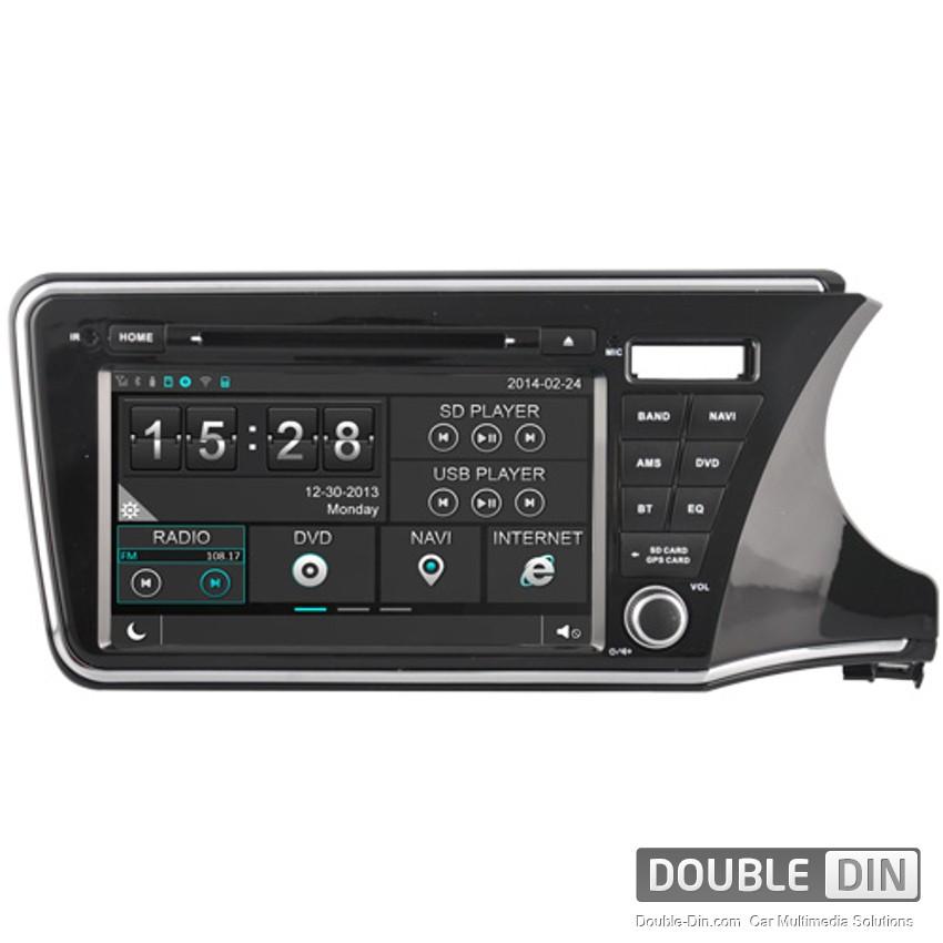 Навигация / Мултимедия за Honda City - DD-8324