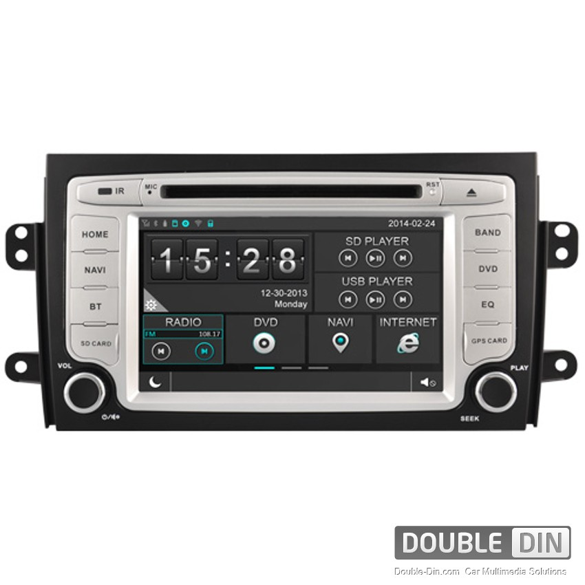 Навигация / Мултимедия за Fiat Sedici - DD-8657