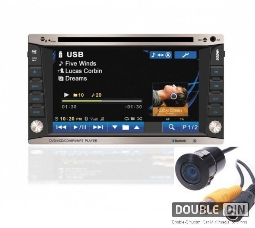 Double Din / Двоен дин DVD GPS TV Bluetooth Универсален с DVB-T