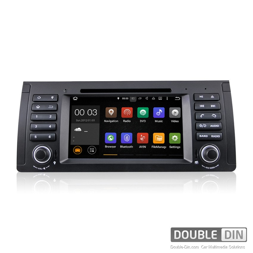 Навигация / Мултимедия с Android 9.0 Pie за BMW E38, E39, X5 E53  - DD-7061