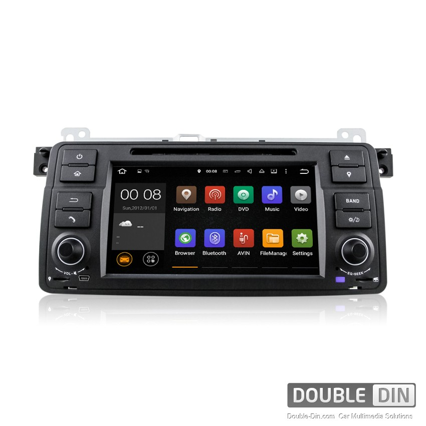 Навигация / Мултимедия с Android 8.0 или 8.1 за BMW E46  - DD-7062