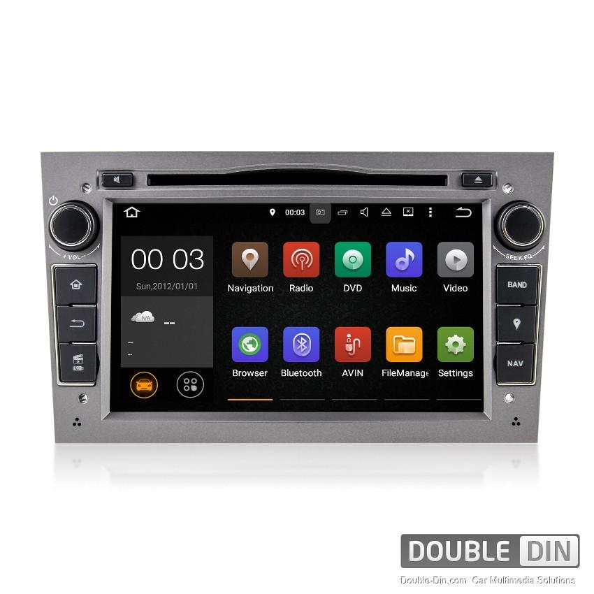 Навигация / Мултимедия с Android 8.0 или 7.1 за Opel Astra, Vectra, Zafira и други  - DD-7060