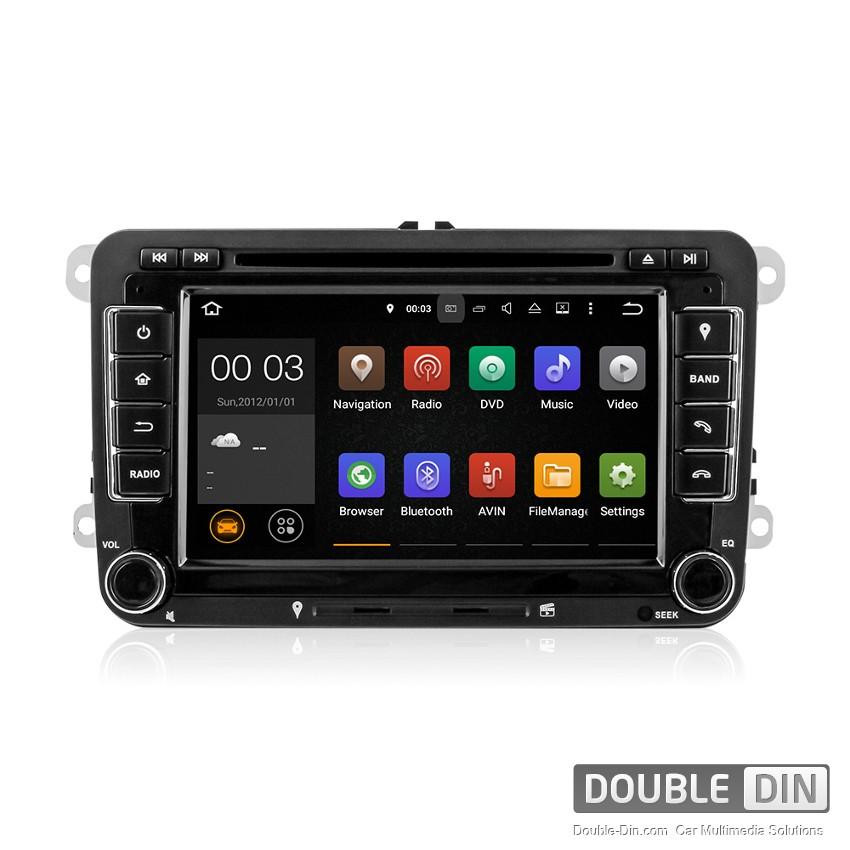 Навигация / Мултимедия с Android 9.0 Pie за VW Golf, Passat, Tiguan, Touran, EOS, Caddy, Jetta и други DD-7048