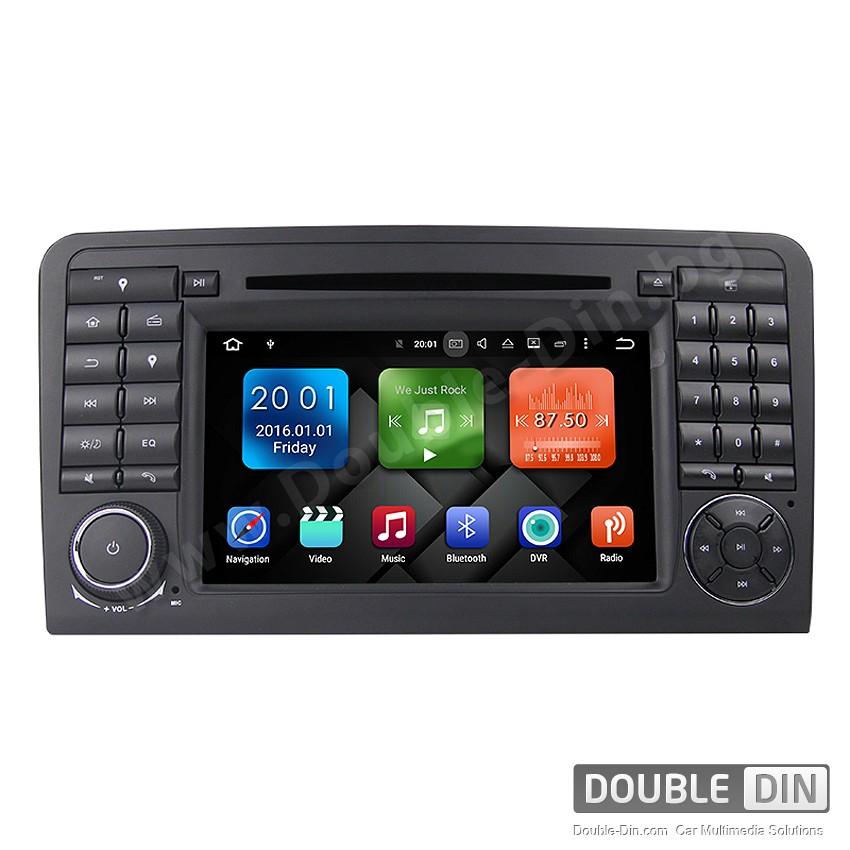 Навигация / Мултимедия с Android 8.0 или 7.1 за Mercedes ML-class W164, GL-class  X164 - DD-7083