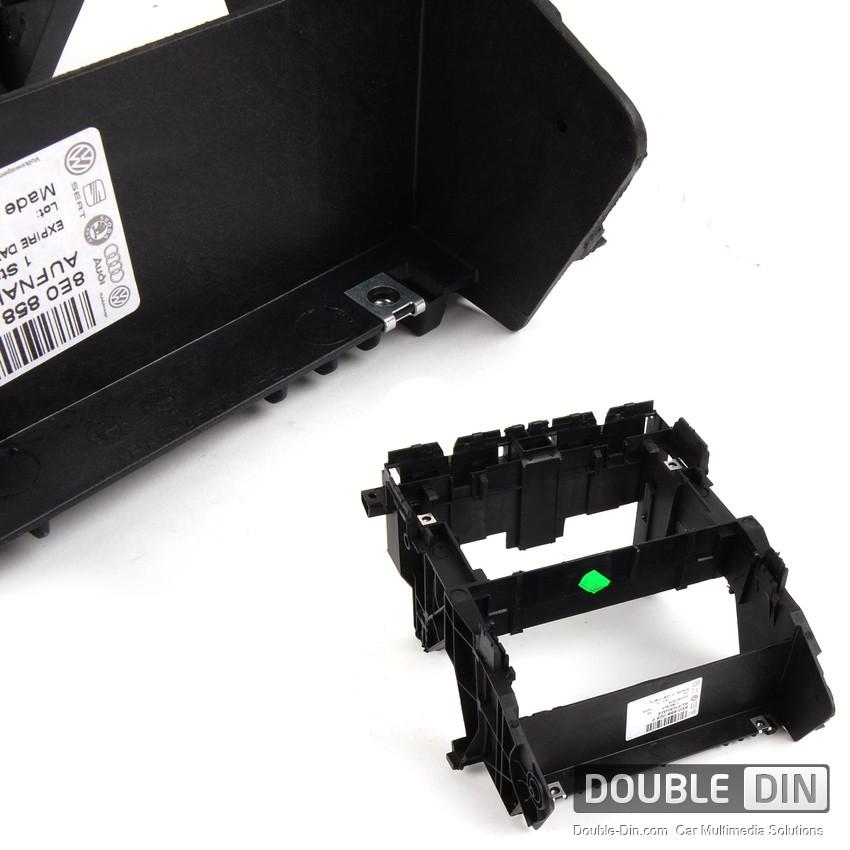 Оригинална конзола за монтаж на Двоен Дин / Навигация в Audi A4 B6 / B7