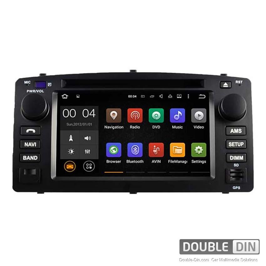 Навигация / Мултимедия с Android 8.0 или 7.1 за Toyota Corolla E120/E130 DD-5512