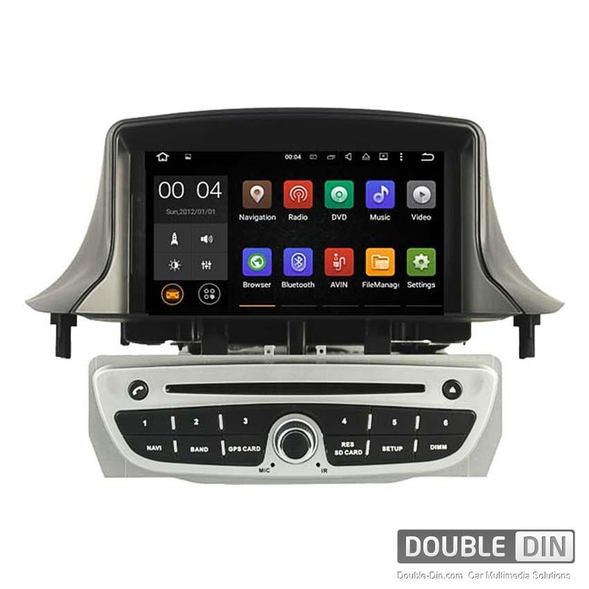 Навигация / Мултимедия с Android 8.0 или 8.1 за Renault Megane III, Fluence - DD-5515