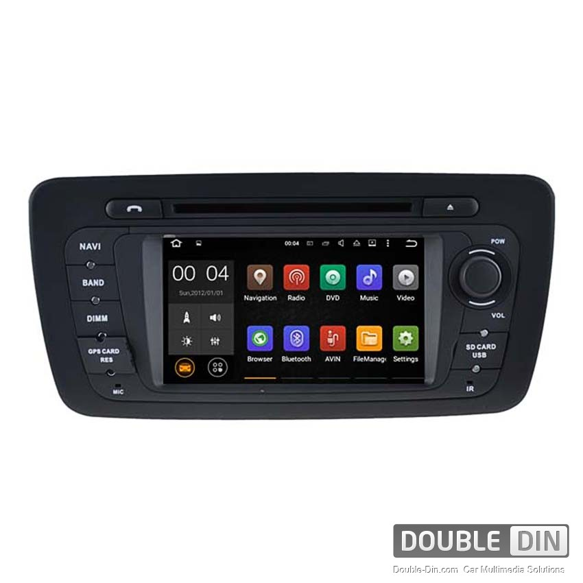 Навигация / Мултимедия с Android 6.0 или 7.1 за Seat Ibiza  - DD-5524