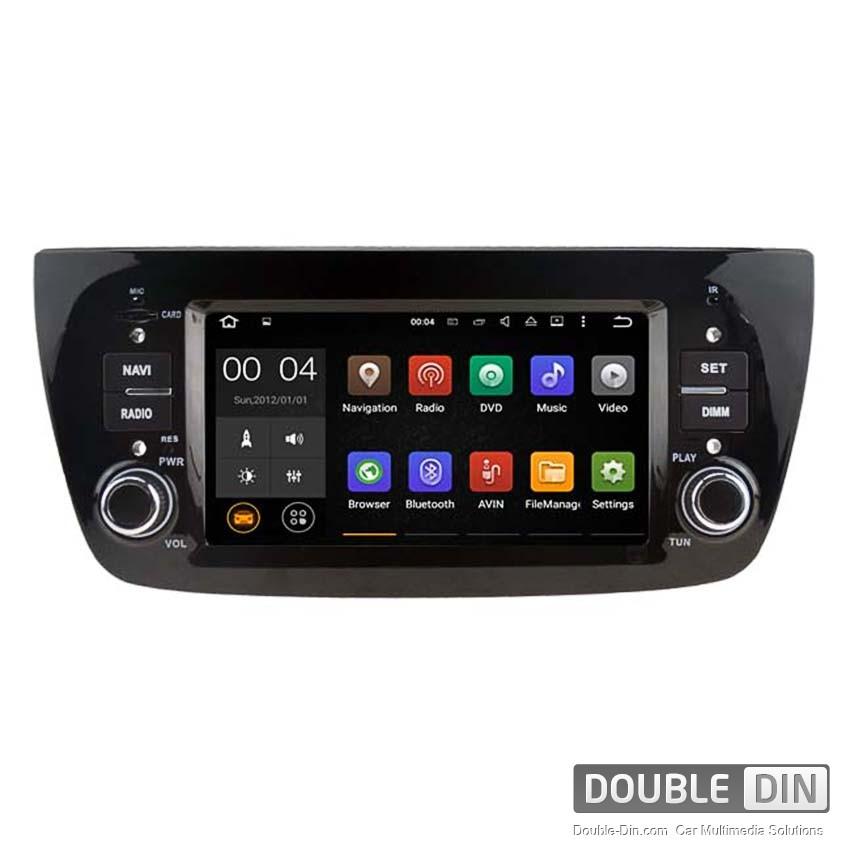 Навигация / Мултимедия с Android 8.0 или 7.1 за Fiat Doblo  - DD-5533