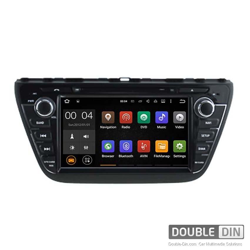 Навигация / Мултимедия с Android 8.0 или 7.1 за Suzuki SX4 S-Cross  - DD-5536