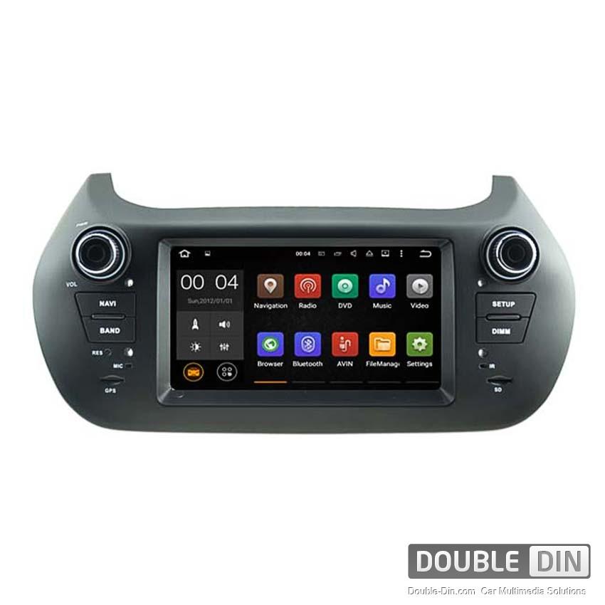Навигация / Мултимедия с Android 8.0 или 7.1 за Fiat Fiorino  - DD-5538