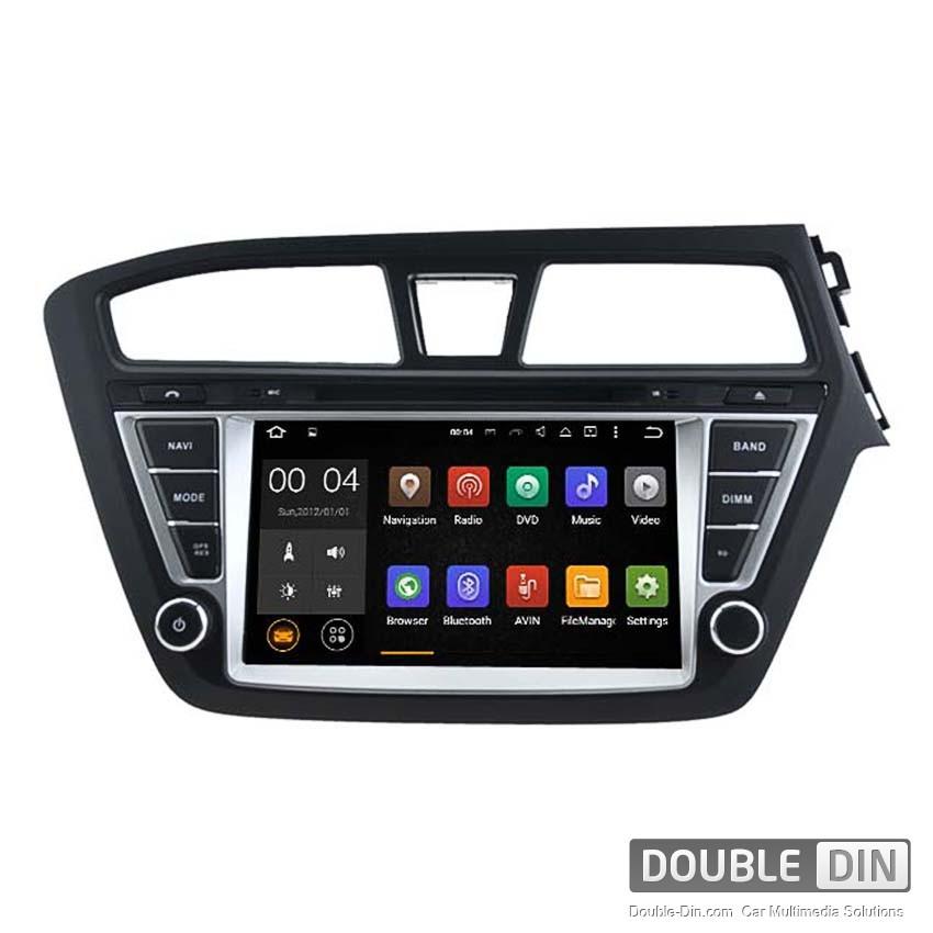 Навигация / Мултимедия с Android 8.0 или 7.1 за Hyundai I20  - DD-5566